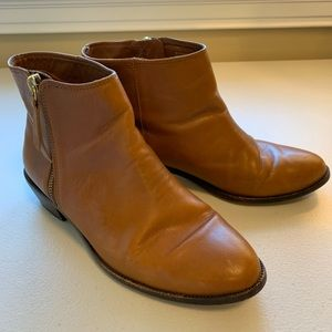J.Crew Frankie Leather Ankle Boots #e0537 Booties